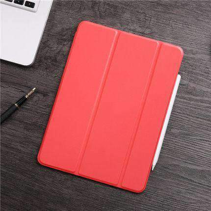 Contracted Business Style Solid Color Apple iPad Cover Case gallery 4