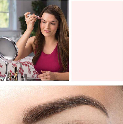 Eyebrow Hair Trimmers with LED Light gallery 6