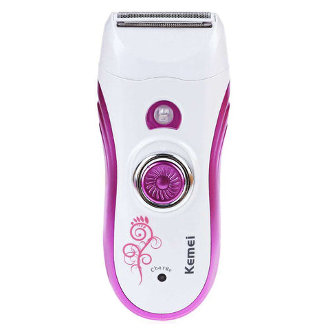Rechargeable Cordless Multifunctional Epilator Defeatherer Shaver Facial Cleansing Instrument for Lady gallery 2