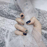 Winter Lake Magic Press On Nail Manicure