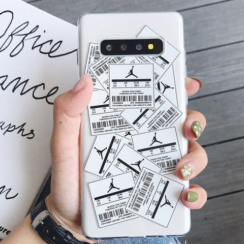 Random Labels Printed Phone Case For Samsung gallery 2
