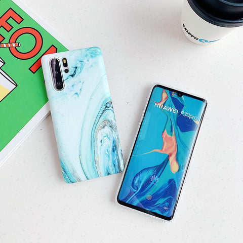 Frosted Motif Marble Phone Case for Samsung gallery 7