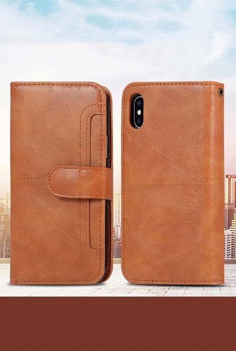 Retro Multi-functional Leather Phone Case for Samsung gallery 4