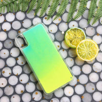 Candy Color Gradation Patchwork iPhone Case for Summer