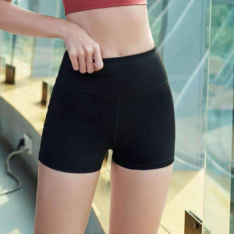 Breathable High Elasticity Fitness Sports Yoga Shorts gallery 6