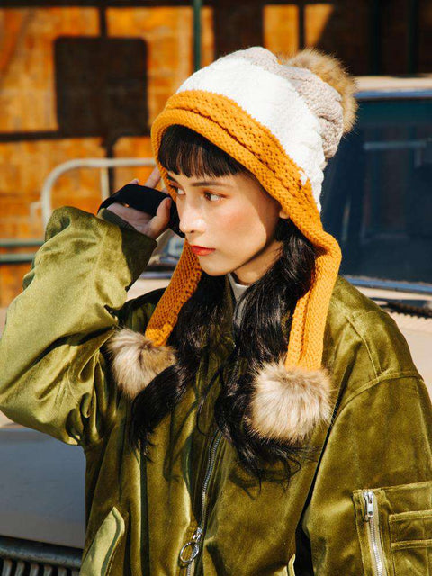 Women's Winter Cute Assorted Color Warm Thick Hat gallery 2