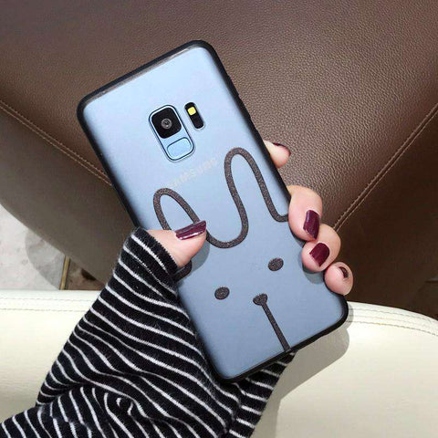 Samsung Frosted Cartoon Print Phone Case gallery 2