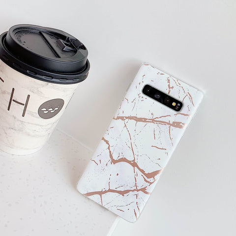 Matte Sand Marble Phone Case for Samsung gallery 9