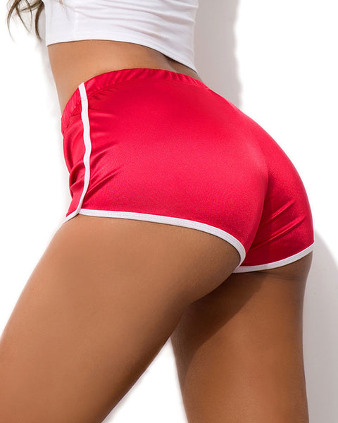 Contrast Binding Sports Shorts gallery 10