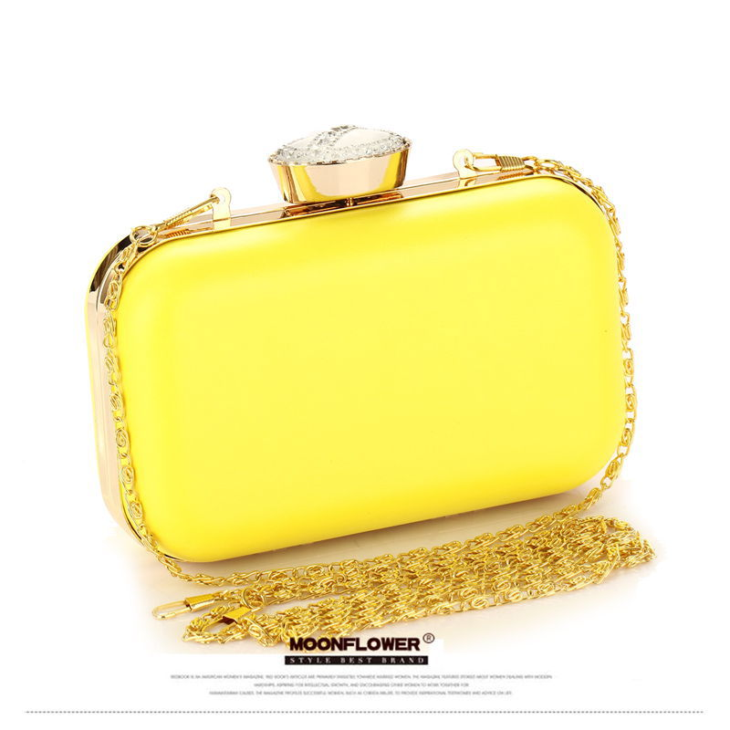 Neon Candy Color Evening Bag Clutch Purses