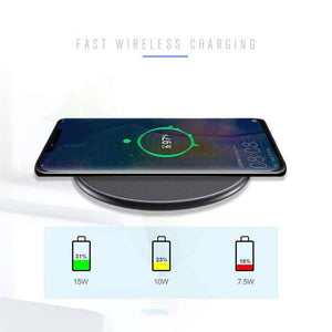 Wireless Charger Compatible with iPhone, Android