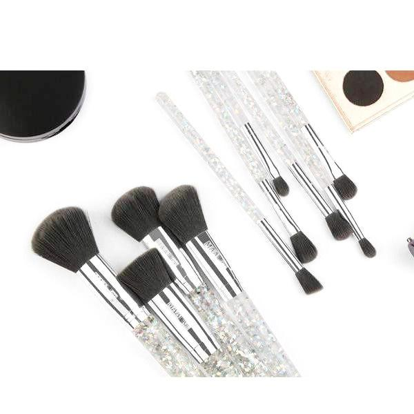 10 Pcs Sparkling Make-up Brush