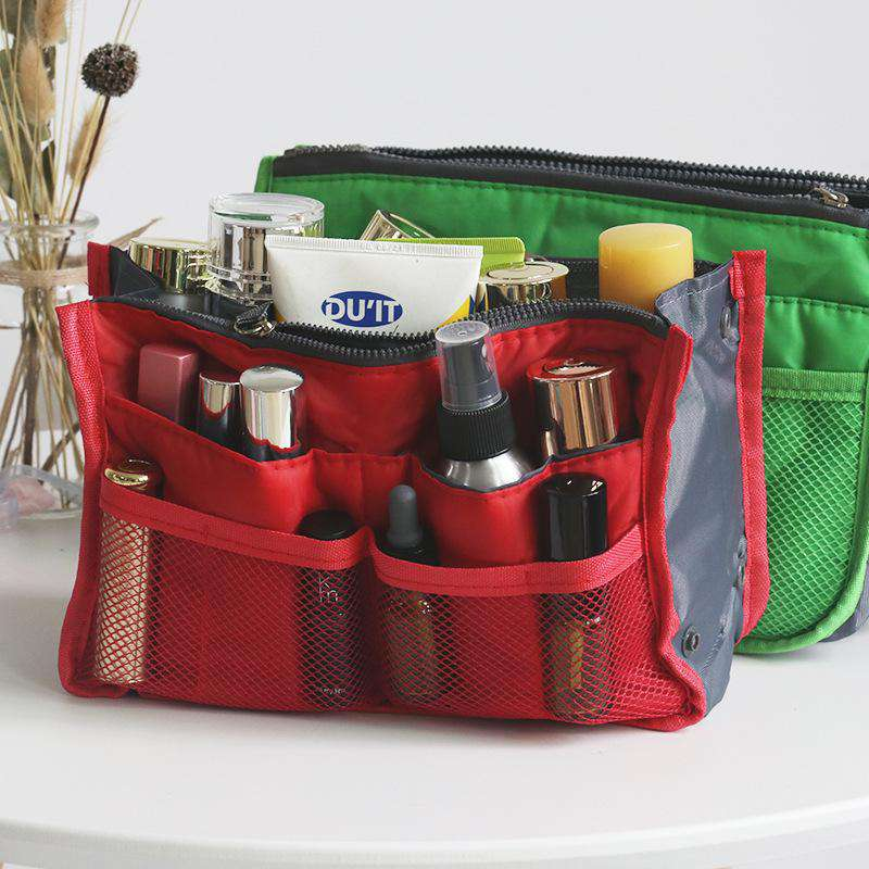 Multi-functional Cosmetic Travel Bag with Sponge Protection
