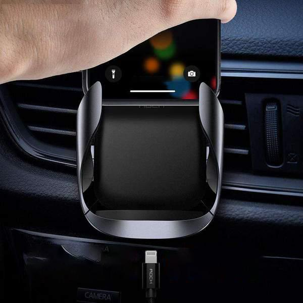 Fast Wireless Charger Car Mount Air Vent Phone Holder