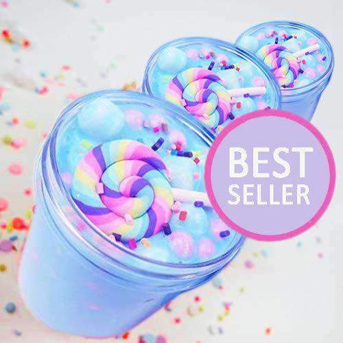 3 Barrels Unicorn Dream Color Scented Sludge Slime Putty