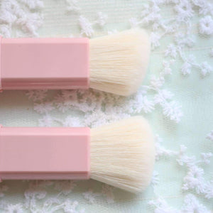 Carry-on Makeup Blush Highlight Brush Set