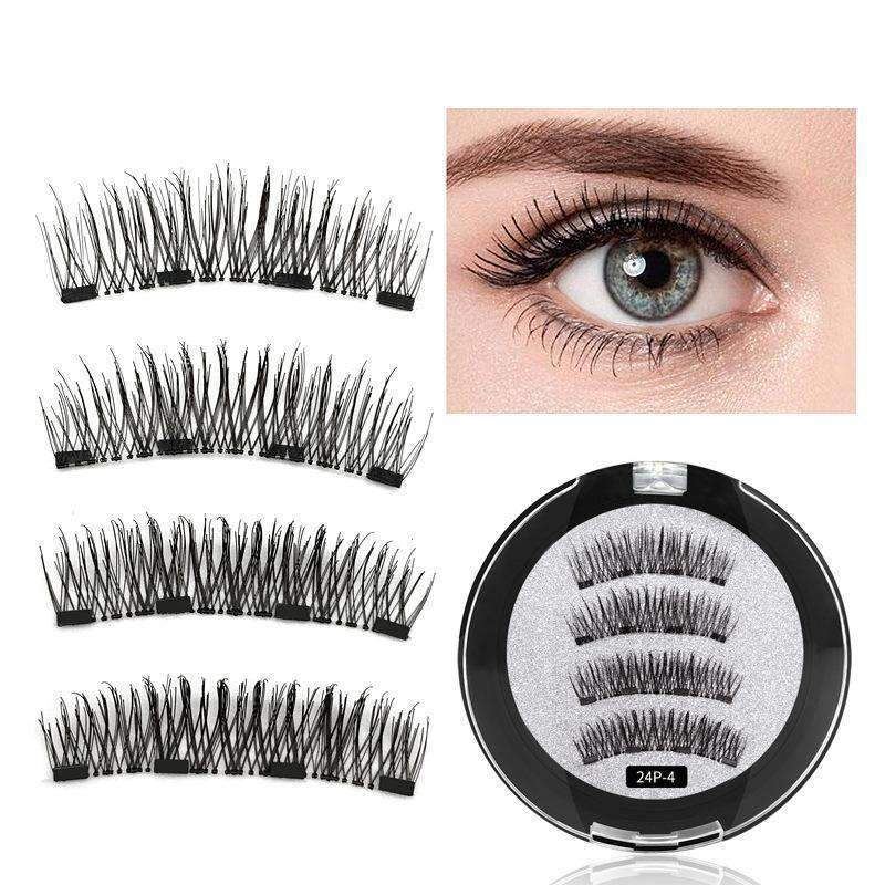 3D Reusable Magnetic Natural False Eyelashes 1 Pair