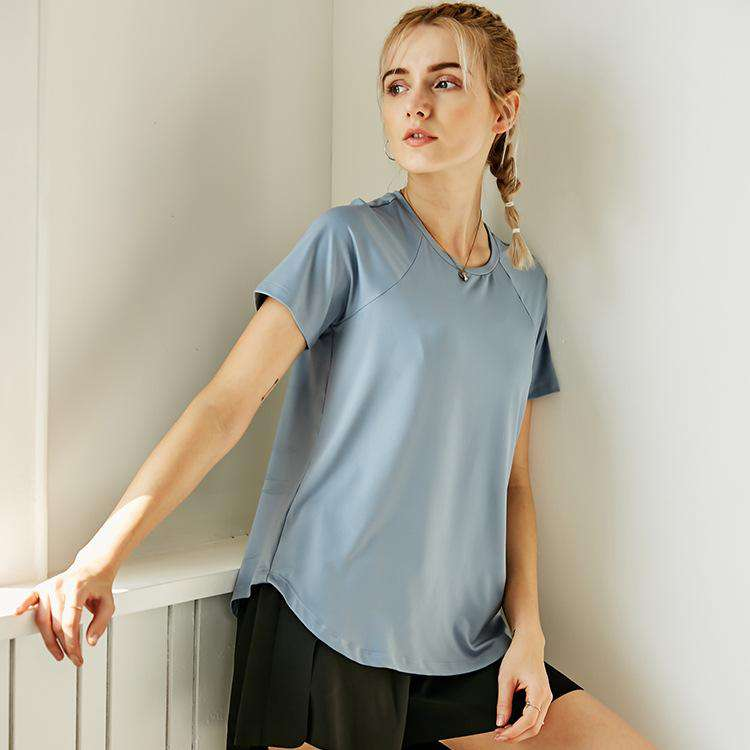 Loose Leisure Breathable Yoga Sports T-Shirt
