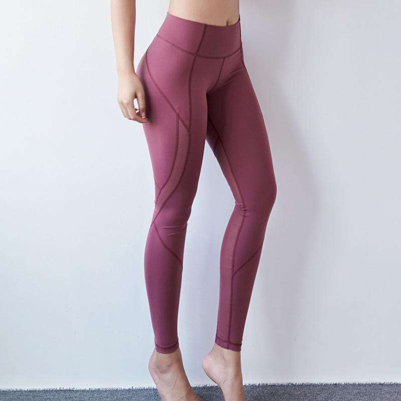 High Waist Pure Color Yoga Legging
