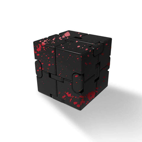 Colored Decompression Fidget Infinity Cube gallery 4