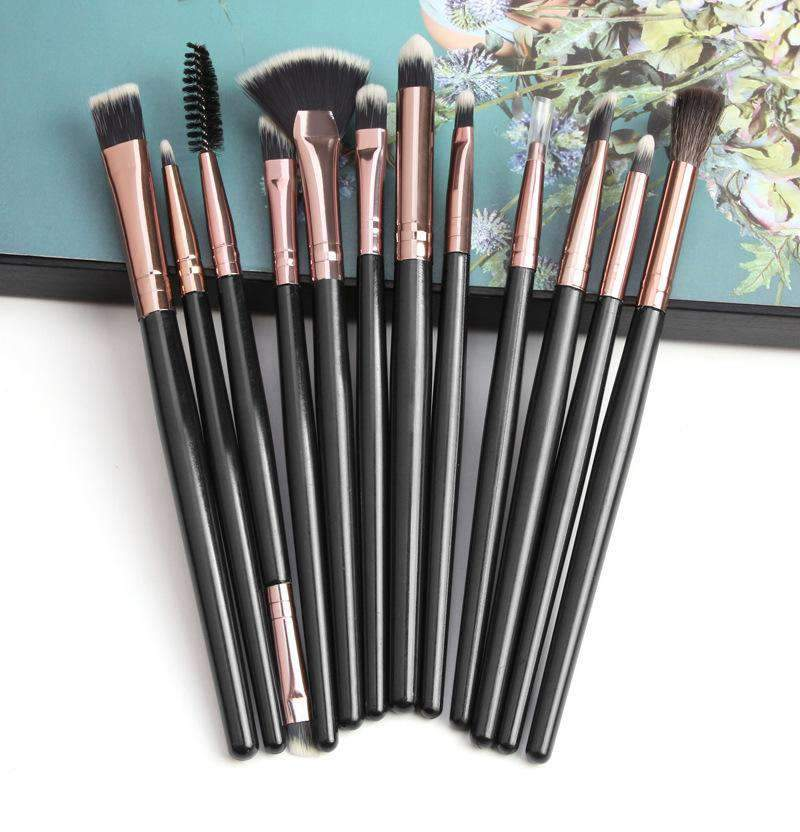 12 Pcs Pure Color Make-up Brush