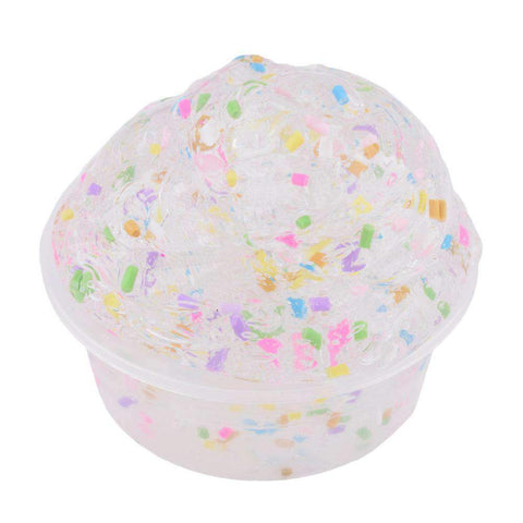3Pcs Sparkle Glitter Scented Slime Putty gallery 9