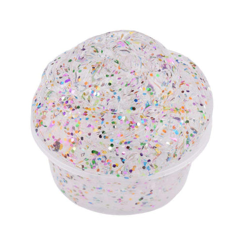 3Pcs Sparkle Glitter Scented Slime Putty gallery 6
