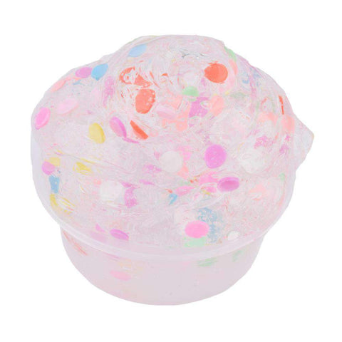3Pcs Sparkle Glitter Scented Slime Putty gallery 10