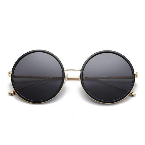 Circle Shape Lens with Wire Side Sunglasses gallery 1