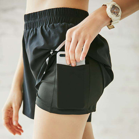 Padded Perspirant Spotrs Running Yoga Shorts gallery 4