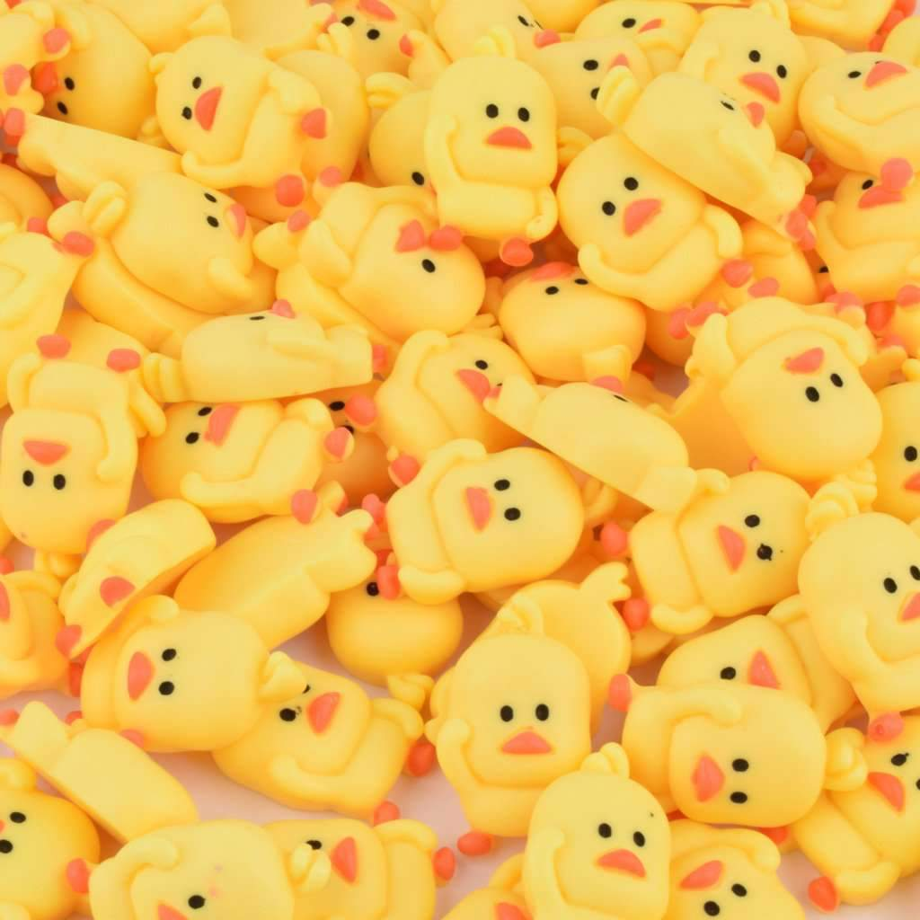 30 Pcs Cute Duck Ornament DIY Craft