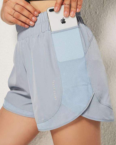 Loose Quick Dry Sports Yoga Running Shorts gallery 3