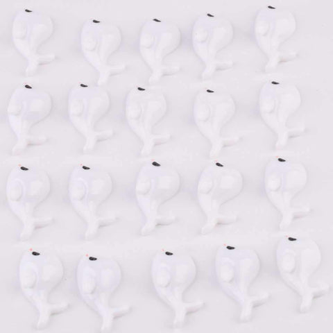 20Pcs Cute Resin Dolphin For Making DIY Craft gallery 4