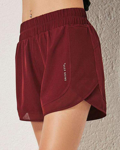 Loose Quick Dry Sports Yoga Running Shorts gallery 2