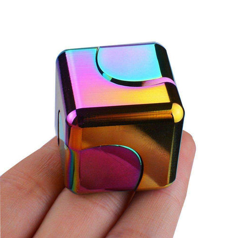 3/4/5 Pcs Colored Decompression Spinner Cube gallery 2