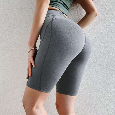 Peach Carry Buttock Tight Sports Shorts gallery 2