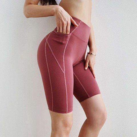 Peach Carry Buttock Tight Sports Shorts gallery 7