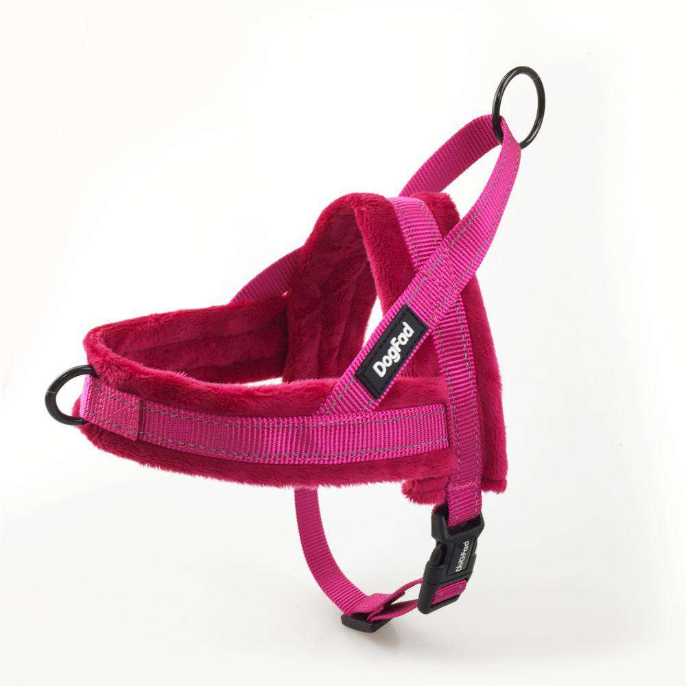 Pure Color Comfortable Leash & Chest Strap For Pets