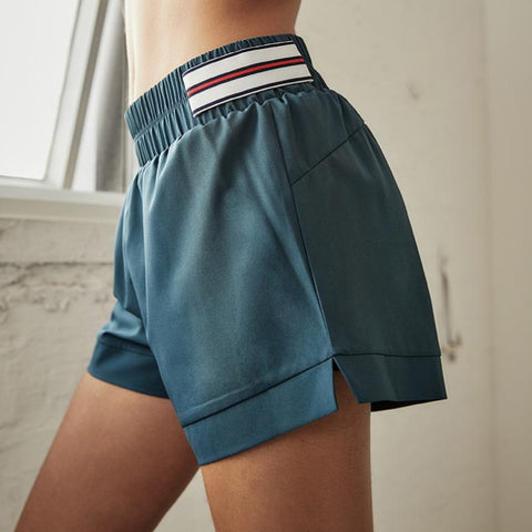 Breathable & Quick-drying with Stripe Printed Side Shorts gallery 6