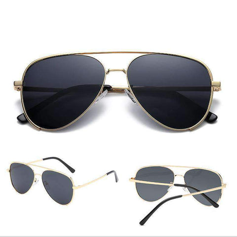 Double Layer Frame Aviator Sunglasses gallery 2