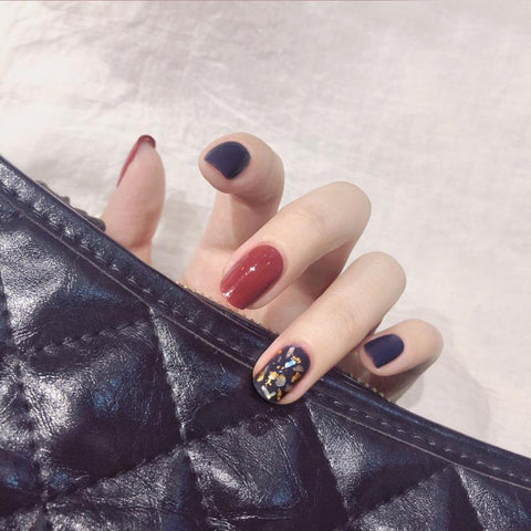 Fantasy Magic Press On Nail Manicure