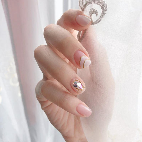 Enchanted Magic Press On Nail Manicure