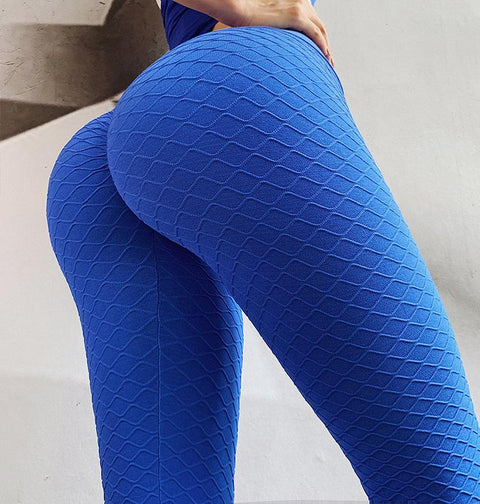 High Waist Butt Lifting Seamless Textured Leggings gallery 15