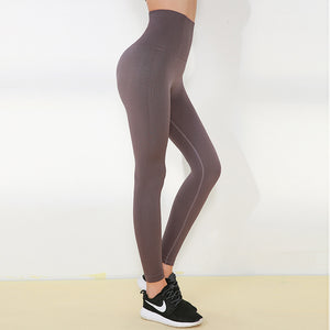 Seamless High Rise Hip-Lifting Compression Sports Leggings