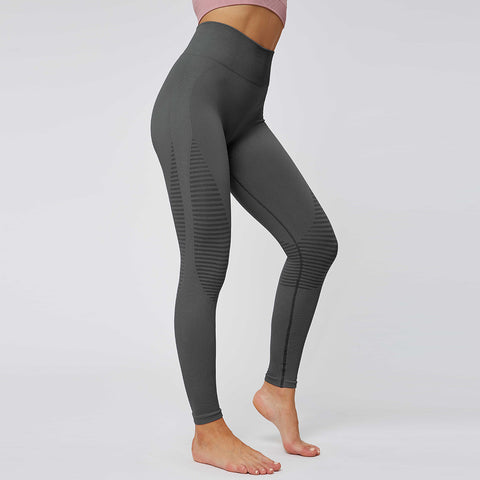 Seamless Hip-Lifting Breathable Stretch Sports Leggings