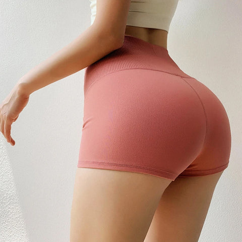 High Waist Butt Lifting Seamless Active Shorts