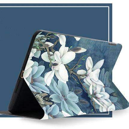Contracted Literary Orchid Painted Apple iPad Cover Case gallery 2