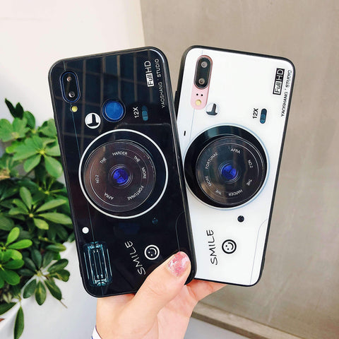 Chic Camera Design iPhone Case with Phone Holder and Hand Strap gallery 2