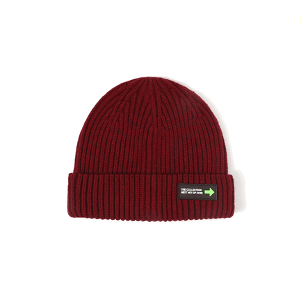 6 Colors Rib Knit Cuffed Beanie Hat With Tag gallery 8