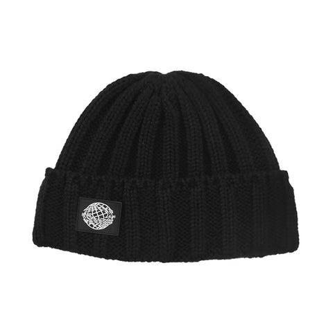 Retro Textured Warm Crimping Knitted Elastic Hat gallery 6